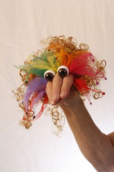 The PEEPER puppets create a character to fit any theme, idea, project or something special from your imagination.  Found at www.storytellin.com