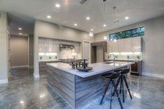 Love this modern and elegant kitchen layout