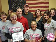 Badger Corrugating Company is proud to support Gundersen Medical Foundation Steppin' out in Pink, a walk supporting breast cancer awareness, research and services in La Crosse, Wisconsin. #steppinoutinpink #SOIP2015 #fightforacure #breastcancer