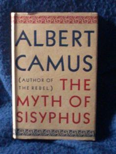 jeffrey babbitt jeffreybabbitt  the myth of sisyphus and other essays albert camus 1st english edition