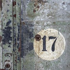 How to Use Numerology to Guide Your Life Alphabet, What's Your Number, Numerology Numbers, Rusty Metal, Distressed Painting, Letter Art, Letters And Numbers, Design Inspiration, Texture