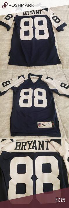 08ca9527182df Dallas Cowboys Reebok Dez Bryant Jersey Size small
