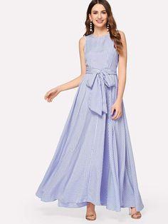 ad49796debce5 Lace & Beads Dinia Spot Maxi Dress | ملابس مودا خاضه