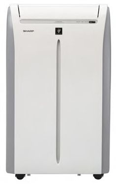 Sharp CV2-P12SX 11500 Btu Portable Air Conditioner by Sharp. $491.86. Dehumidifies 65 pints per day. 12 hour timer. Plasmacluster Ion Technology. 3 Fan Speeds + Mega Cool. Library quiet operation. Sharp CV-2P12SX Portable Air Conditioner CV-2P12SX Air Conditioners