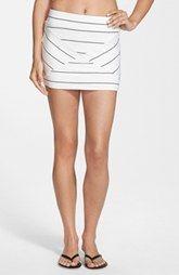 Rip Curl 'Borderline' Print Miniskirt (Juniors)