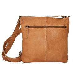 SoNize skinnveske m/glidelås cognac Messenger Bag, Satchel, Laptop, Bags, Accessories, Satchel Purse, Handbags, Satchel Bag, Totes