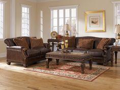 The North Shore Dark Brown Sofa from Ashley Furniture HomeStore