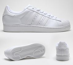 best sneakers 42d7f f7c1b Adidas Originals Superstar 2 Trainer Adidas Superstar All White, Jordans  For Sale, Mens Trainers