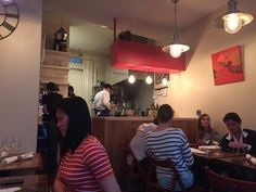 OKA, Paris  Very personal, small kitchen, chefs are visible