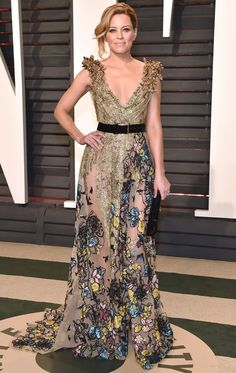 102 Awesome Oscars Weekend Outfits You Didn't See - but Can't Miss - Elizabeth Banks in Elie Saab