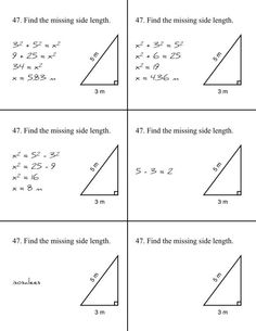 pythagorean theorem questions and answers grade 8
