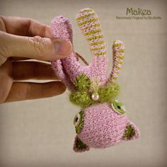 Makea - Original Handmade Little Cat/Kitten/Toy/Gift/Charm by Knofletka on Etsy