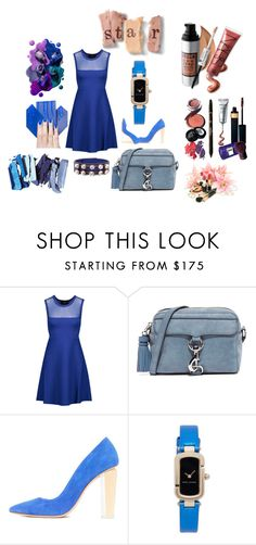 """""""Blue Crush!!"""" by stylediva20 on Polyvore featuring Streamline NYC, Line, Rebecca Minkoff, Marc Jacobs and Marni"""