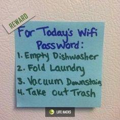 21st century parenting hack :)