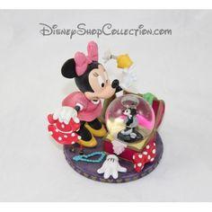 Snow globe Minnie DISNEY PARKS coffre à costumes garde robe 10 cm