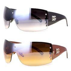 4ea75010d0 NWT Womens Oversized DG Sunglasses Eyewear Designer Shades Fashion Black  Gold