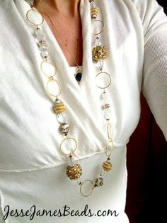 The Bead Idea Page - Jewelry Trends - Jesse James Beads