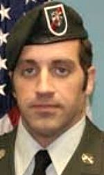Army SSG Matthew A. Pucino, 34, of Cockeysville, Maryland. Died November 23, 2009, serving during Operation Enduring Freedom. Assigned to 2nd Battalion, 20th Special Forces Group, Maryland Army National Guard, Glen Arm, Maryland. Died of injuries sustained when an improvised explosive device detonated near his position during combat operations in Pashay Kala, Zabul Province, Afghanistan.
