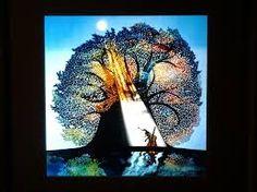 藤城清治「月光の響」(1981)