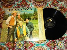 "bonanza- ponderosa party time- hoss little joe- 1962 rca records- LMP-2583- NEAR MINT Cond lp record album vinyl 12"" music"