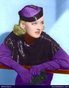 Bette Davis Colorized 4 by ajax1946 on DeviantArt