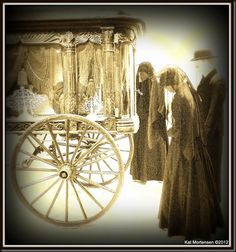 Victorian Funeral Procession at The Poor House