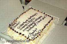 Madártej torta Tiramisu, Cake, Ethnic Recipes, Food, Food Cakes, Eten, Cakes, Tiramisu Cake, Tart