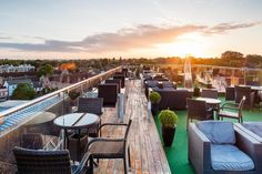 The Rooftop Terrace, Varsity Hotel - Cambridge