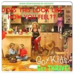 Mom's...Get your energy back the natural way with Le-Vel Thrive! Contact me today! www.shannaross.le-vel.com