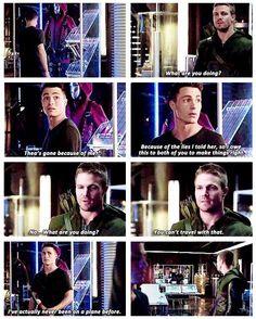 Arrow - Oliver and Roy #3.3 #Season3