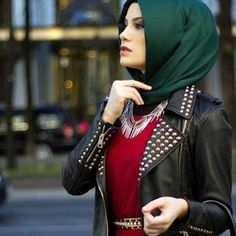 Hijab Fashion for Round Faces