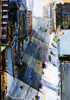 Wayne Thiebaud, Lighted City