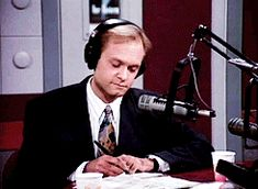 He's gainfully employed. | 60 Reasons Niles Crane Is A Babe And A Half