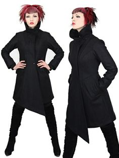 plastikwrap womens wool jacket - thumbnail... sold out and expensive... wish list!
