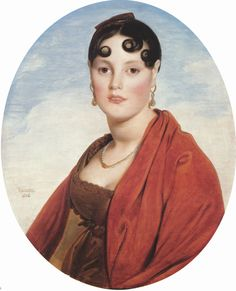 1806 Madame Aymon, La belle Zelie by Jean Auguste Dominique Ingres (Musee des Beaux-Arts, Rouen France)