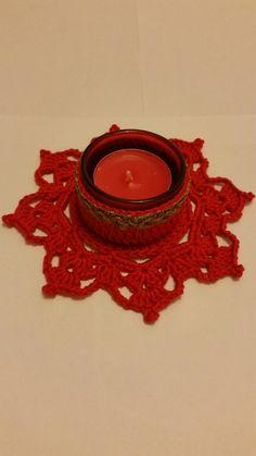 Crochet Tealight Holder
