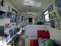 The book barge #boats #canals #narrowboats