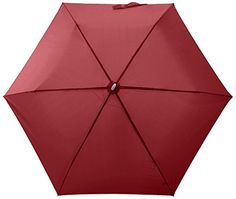Mano Paraguas plegable MPU5 Rojo - http://comprarparaguas.com/baratos/de-colores/rojo/mano-paraguas-plegable-mpu5-rojo/