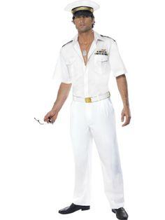 Top Gun Captain Costume  £44.99 : Get It On Fancy Dress Superstore, Fancy Dress & Accessories For The Whole Family. http://www.getiton-fancydress.co.uk/tvmusicfilm/topgun/topguncaptaincostume#.UzyJKKKNJ0o
