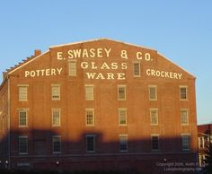 A Ghost Sign in Portland, Maine | Danthonia Designs Blog