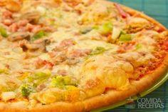 Receita de Pizza de alho poró - Comida e Receitas
