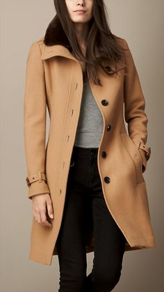 Favorite coat: Burberry Coat, Camel, size 8: $995 10% off if you sign up for their emails