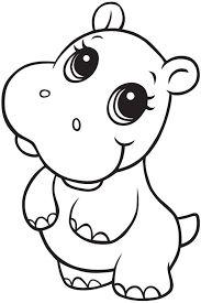 Hippo Drawing Kids