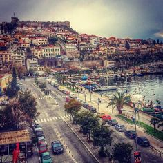 Kavala was part of the Ottoman Empire from 1387 to occupied… Greece Vacation, Greece Travel, Vacation Destinations, Vacation Spots, Beautiful Islands, Beautiful Places, Round The World Trip, Places Around The World, Cool Places To Visit
