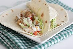 Baja Style Fish Tacos by tasteandtellblog: Light and healthy! #Fish_Tacos #tasteandtell