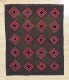 Amish block quilt, early 20th c. Pook & Pook