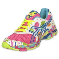 Glow in the Dark Asics Running Shoes.  ASICS Gel-Noosa Tri 7
