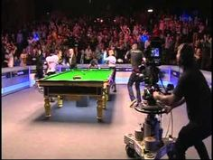 The Harlem Shake comes to The Welsh Open Snooker in Newport, yes that's right...snooker!