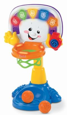 Amazon.com: Fisher-Price Laugh & Learn Learning Basketball: Toys & Games