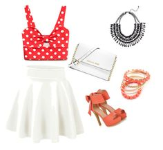 """Cherry on top"" by tsippel ❤ liked on Polyvore"